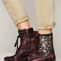 Feud  Kadence Military Boot at Free People Clothing Boutique