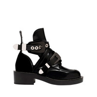 Balenciaga Ceinture Ankle Boots Black - Women's Unit Shoes