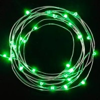 Philips 30ct Christmas Battery Operated LED Pick A Color Dewdrop Fairy String Lights - Multicolored