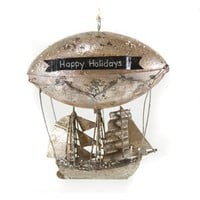 Zeppelin Ornament