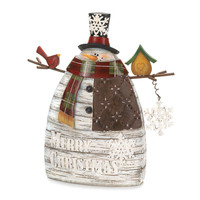 Home Indoor Decoration Holiday Merry Christmas Seasonal Snowman Gift Boxes Set