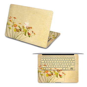apple macbook decal pro keyboard sticker laptop macbook keyboard decal air sticker flower apple decal retina keyboard sticker macbook decal