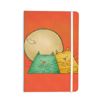 "Carina Povarchik ""2 Gatos Romance"" Love Cats Everything Notebook"