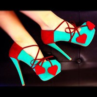 Red Hearts Heel Accessory