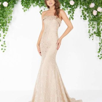 Mac Duggal - 20084D Strapless Lace Mermaid Gown