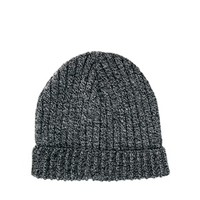 ASOS Mixed Knit Short Rib Knit Beanie