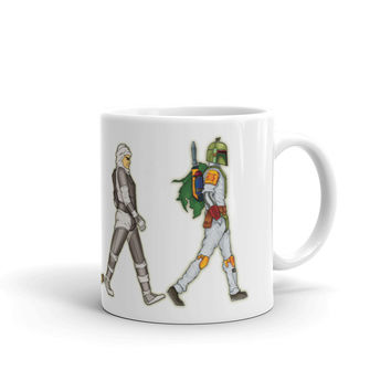 Bounty Road's Fab Four Beatles Star Wars Mash Up Parody Mug
