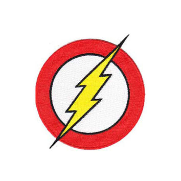 The Flash Logo Iron-On Patch