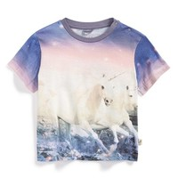Infant Girl's Stella McCartney Kids Unicorn Screenprint Tee