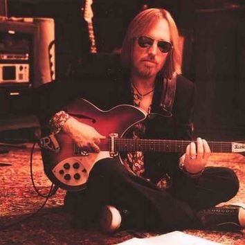Tom Petty Guitar Portrait Poster 24x36