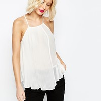 ASOS Pleated Cami Top at asos.com