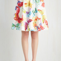 Critters Mid-length Full Completely and Flutter-ly Skirt
