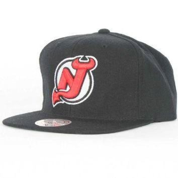 DCCK8X2 Mitchell & Ness New Jersey Devils NHL Vintage Wool Solid NZ980 Snapback Hat