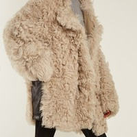 Lune oversized shearling coat | Acne Studios | MATCHESFASHION.COM US