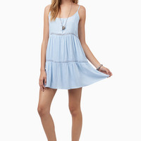 Sasha Tiered Tunic Dress $36