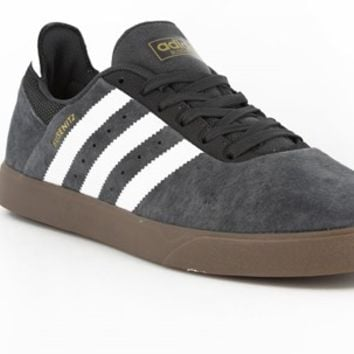 Adidas Busenitz ADV Skate Shoes - dark grey heather/solid grey/running white/gum - Free Shipping