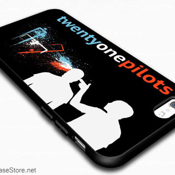 Twenty One Pilots Pistol Shoot Effect Case Cover For iPhone 6 / iPhone 6 Plus