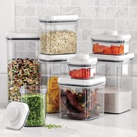 OXO® Pop® Plastic Containers, Rectangle | Sur La Table