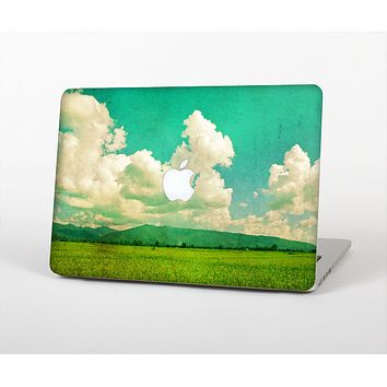 The Green Vintage Field Scene Skin for the Apple MacBook Air 13""