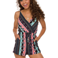 Midnight Love Romper