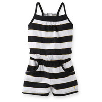 Jersey Wide Stripe Romper