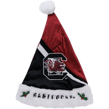 South Carolina Gamecocks Swoop Logo Santa Hat - Garnet/Black - http://www.shareasale.com/m-pr.cfm?merchantID=7124&userID=1042934&productID=555872042 / South Carolina Gamecocks
