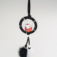 Peanuts Snoopy dreamcatcher- 2 inch