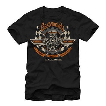 Gas Monkey Garage Texas Made Black T-Shirt