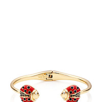 Kate Spade Little Ladybug Thin Cuff Red Multi ONE