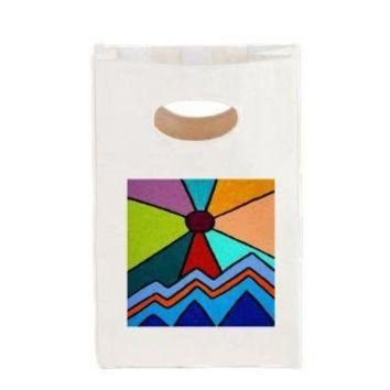 DCCKHD9 New Day #2 Canvas Lunch Tote> Bags> art by Erin Jordan