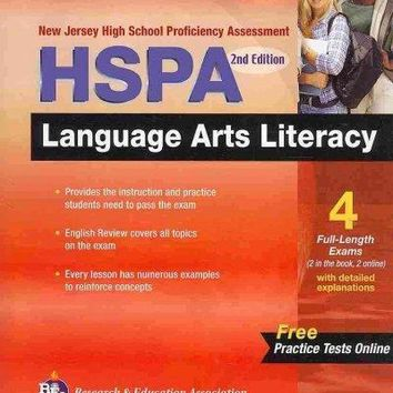 New Jersey Hspa Language Arts Literacy (Ready, Set, Go! New Jersey HSPA Language Arts Literacy)