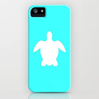 Sea turtle teal iPhone Case by JT Digital Art  | Society6