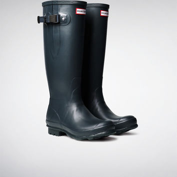 Hunter UK | Norris Field Side Adjustable Boots | Official Site