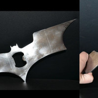 Batman Metal Bottle Opener, Batarang, Custom Bottle Opener