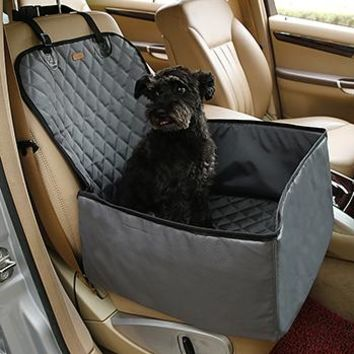 Waterproof Dog Car Seat Cover Pet Rear Carrier Mat Blanket