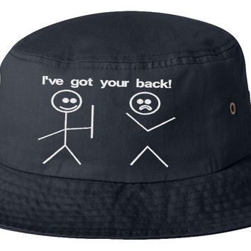 i ve got your bac bucket hat