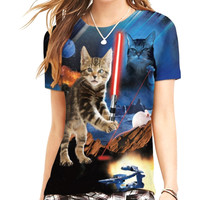 Star Cats Women's T-Shirt