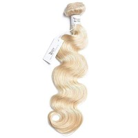 russian blonde 613 human hair weave 1 bundle hair extensions