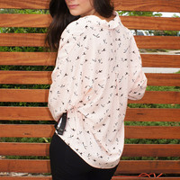 "Peach ""Fly Away"" Top"