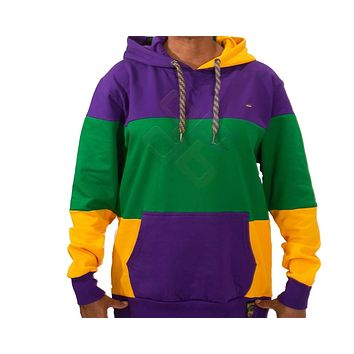 Mardi Gras Traditional Pullover Hooded Sweatshirt