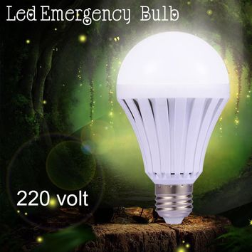 LED Bulb e27 5W LEDs Emergency Light Bulbs 7W Rechargeable Battery Lamp 9W 220V led Night Lights 12W Home Indoor Lighting