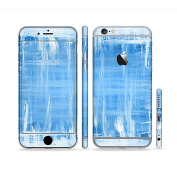 The Water Color Ice Window Sectioned Skin Series for the Apple iPhone 6