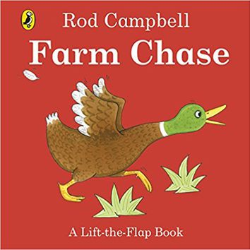Farm Chase: A Lift-the-Flap Book Board book – International Edition, June 28, 2016