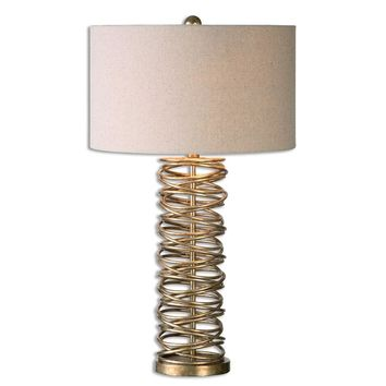 Amarey Metal Ring Table Lamp By Uttermost
