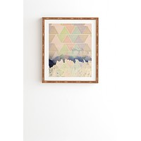 Maybe Sparrow Photography Geometric Alaska Framed Wall Art