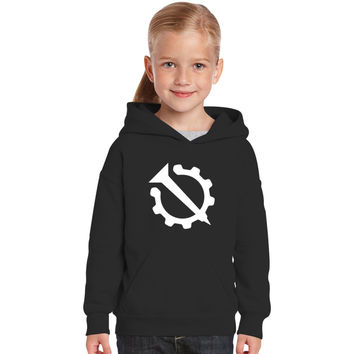 Hello Internet Official Flag (Nail And Gear) Kids Hoodie