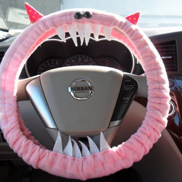 Monster Steering Wheel Cover