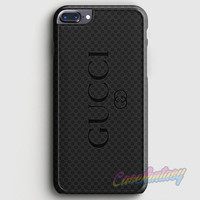 Gucci Black Emboss iPhone 7 Plus Case | casefantasy