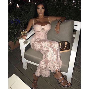 Coco Sexy Lace Party Jumpsuit
