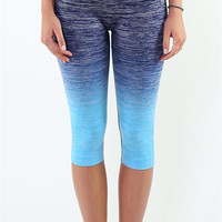 Get Fit Leggings - Blue